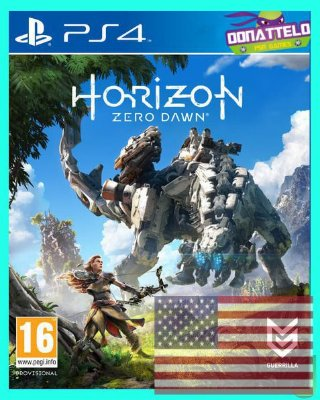 Horizon Zero Dawn ps4 - em inglês
