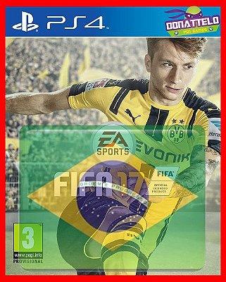 Fifa 17 ps4 - Narração em portugues br