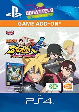 DLC Road to Boruto ps4