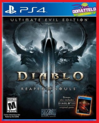 Diablo 3 Reaper of Souls ps4 dublado