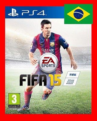 Fifa 15 ps4 - Narração portugues br