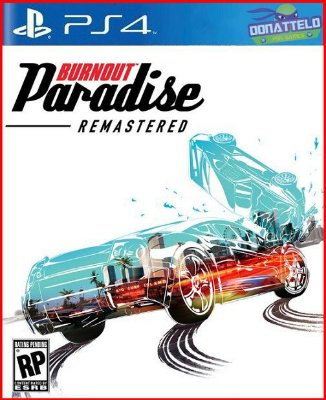 Burnout Paradise Remastered ps4/ps5