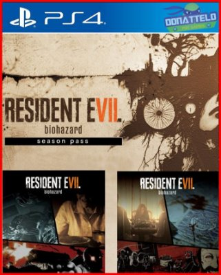 Season Pass Resident Evil 7 ps4 - Episodios 1, 2 e extras