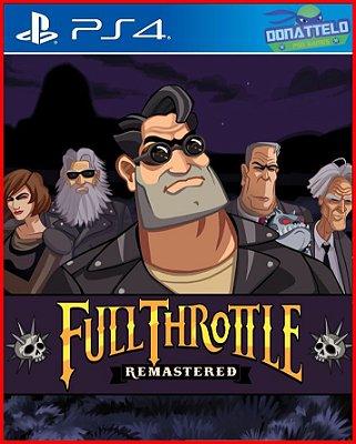 Full Throttle Remastered ps4