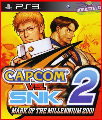 Capcom vs Snk 2 Mark of the millenium 2001 ps3