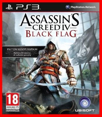 Assassins Creed IV ps3 - AC 4 Black Flag
