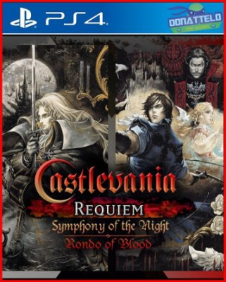 Castlevania Requiem Symphony of the Night & Rondo of Blood ps4