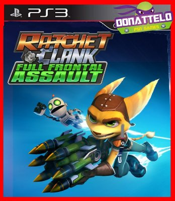 Ratchet e Clank Full Frontal Assault ps3