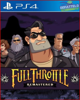 Full Throttle Remastered PS4/PS5