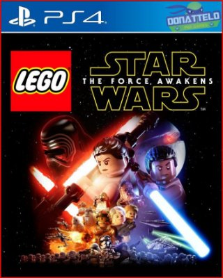 Lego Star Wars O despertar da força ps4 - The Force Awakens