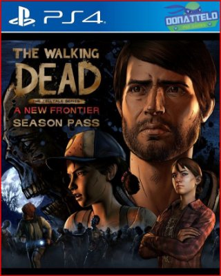 The Walking Dead Season 3 - A new frontier - Temporada completa - PS4