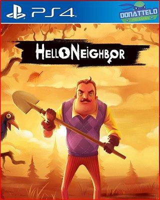 Hello Neighbor PS4 - Ola vizinho PS4
