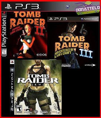 Colecao Tomb Raider Classico PS3 - Três jogos