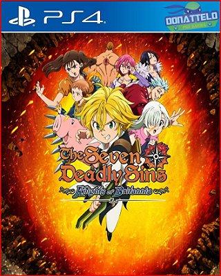 Nanatsu no Taizai - Sete Pecados Capitais PS4