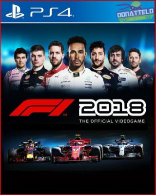 F1 2018 The Official Videogame PS4