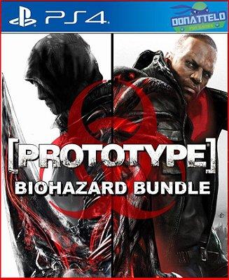 Pacote Prototype Biohazard PS4