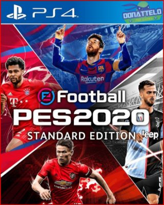 Pro Evolution Soccer 2020 - eFootball PES 2020 PS4