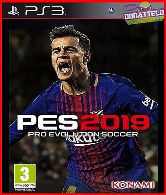 Pro Evolution Soccer 2019 ps3 - PES 2019 PS3  - PES 19 (confira a descrição)