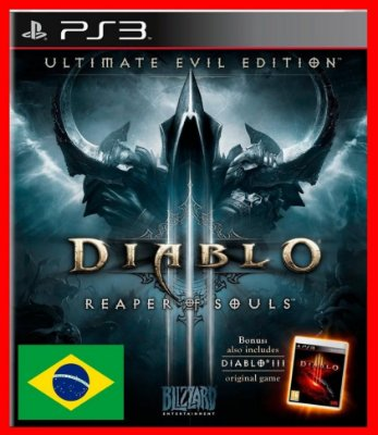 Diablo 3 Reaper of Souls: Ultimate Evil Edition ps3 - Portugues-br