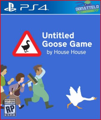 Untitiled Goose Game PS4 - Jogo do Ganso
