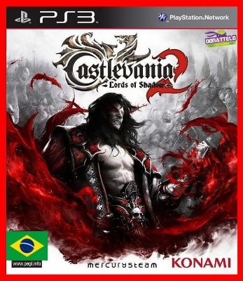 Castlevania Lords of Shadow 2 com dlc Revelations ps3