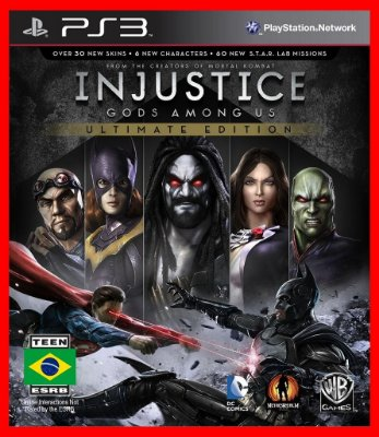Injustice Gods Among us ps3 - Ultimate edition