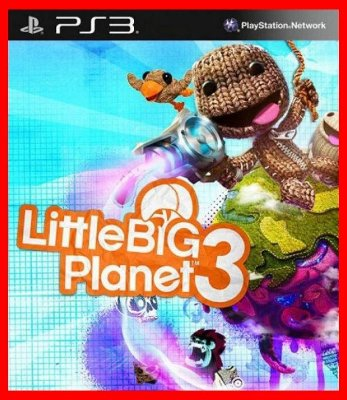Little Big Planet 3  PS3 - em portugues br