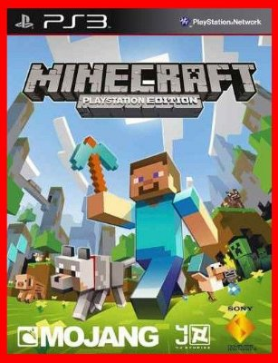 Minecraft Playstation 3 ps3 Edition