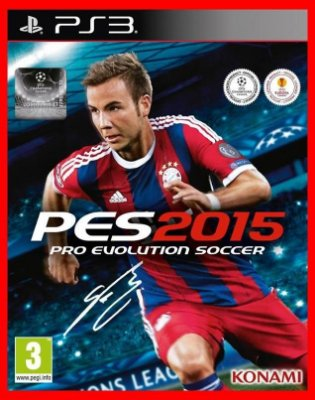 PES 2015 - Pro Evolution Soccer 15 ps3