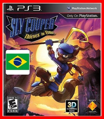 Sly Cooper Thieves in Time ps3