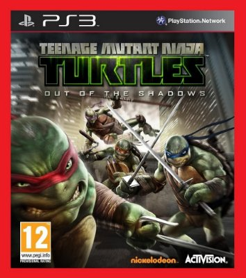 Tartarugas Ninja - Out of the Shadows ps3
