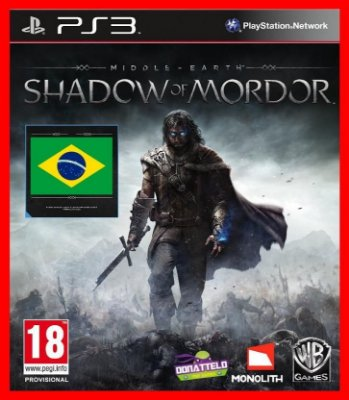 Terra Média Sombra de Mordor  - Shadow of mordor ps3
