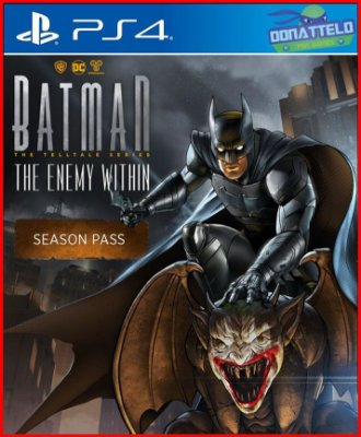 Batman O Inimigo Dentro PS4 - Batman Telltale The Enemy Within