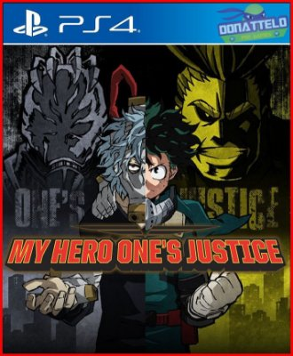 My Hero One's Justice PS4 - Boku no Hero Academia