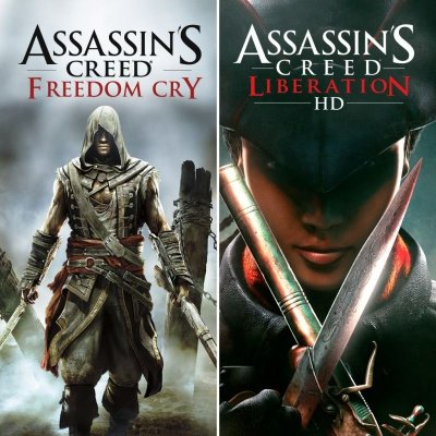 Assassins Creed Freedom Cry  e Assassins Creed Liberation HD