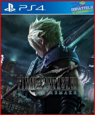 Final Fantay VII Remake - Final Fantasy 7 ps4