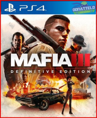 Mafia 3 Definitive Edition PS4 - Mafia III PS4