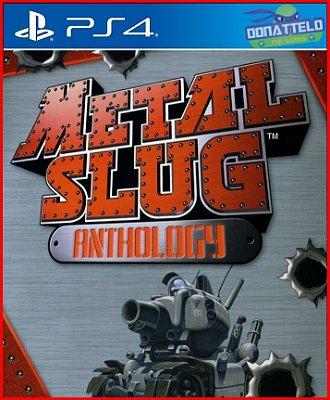 Metal Slug Anthology PS4 - Coleção Metal Slug