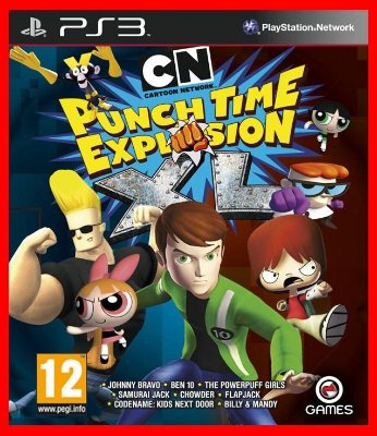 Cartoon Network Punch Time Explosion ps3