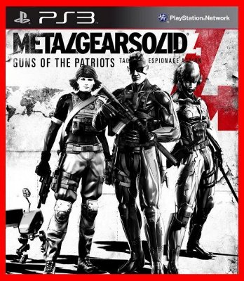Metal Gear Solid 4: Guns of the Patriots ps3 psn