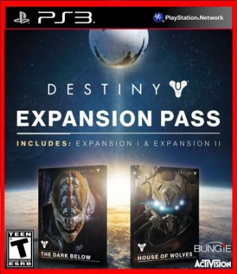 Destiny Season Pass (dark below e house of wolves)