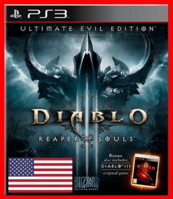 Diablo 3 Reaper of Souls: Ultimate Evil Edition ps3 - Inglês