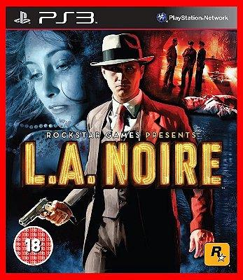 L.A. Noire + brinde - PS3