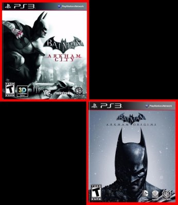 Combo Batman: Arkham City E Arkham Origins ps3