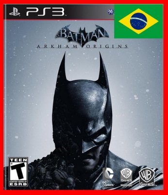 Batman Arkham Origins ps3 - Dublado Portugues-br