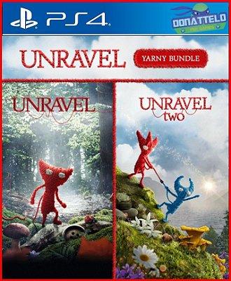 Coleção Unravel PS4 - Unravel Yarny PS4