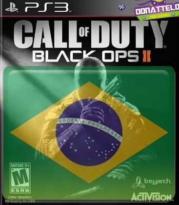 Call of Duty Black Ops II ps3 - Cod Black Ops 2 + pacote de mapas - portugues br