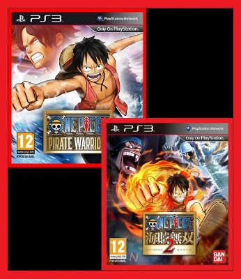 Combo One Piece: Pirate Warriors 1 e Pirate Warriors 2 ps3