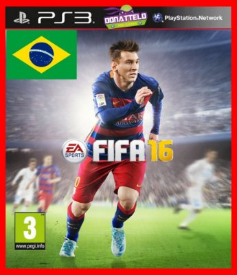 Fifa 16 ps3 narracao portugues br