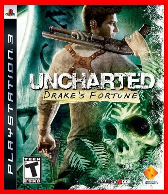 Uncharted 1 ps3 - Drake's Fortune
